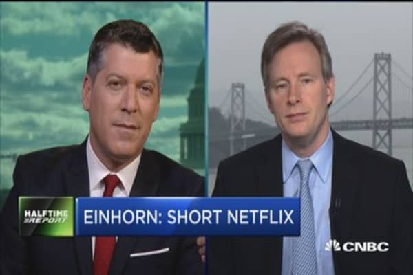 Mahaney on Netflix: Don't see particular reason to buy it into the print