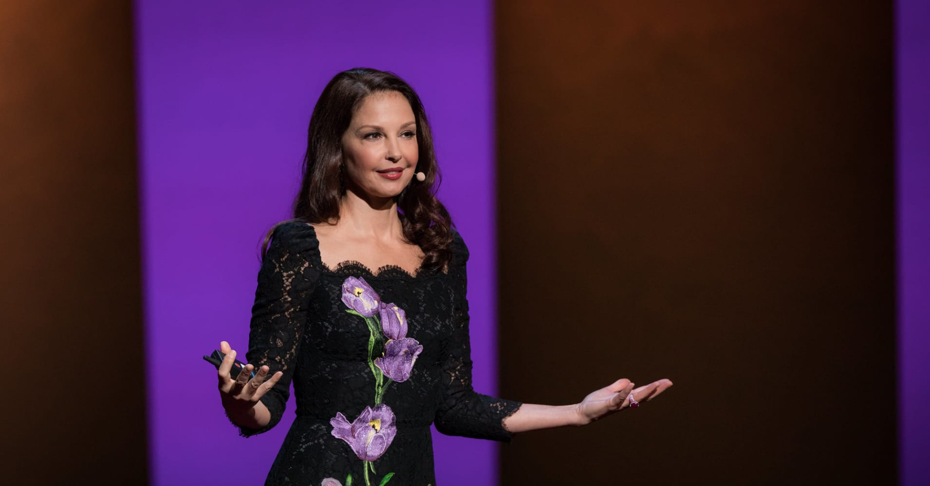 Actor and activist Ashley Judd