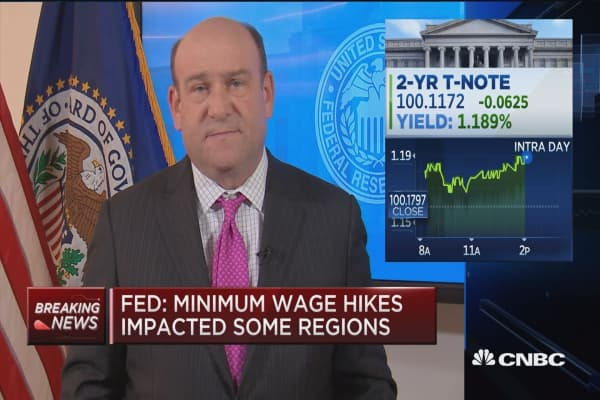 Fed releases Beige Book