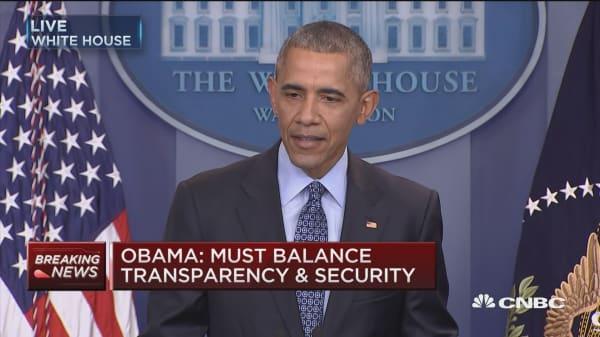 Obama: Russia sanctions were in response to invasion of Ukraine