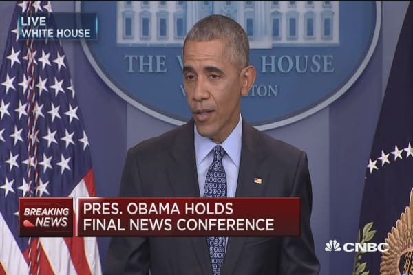 Obama: Status quo in Israel is not sustainable
