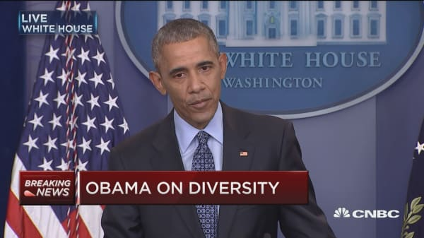 Obama: We have more work to do on race