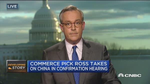 Senators question Ross on Trump's conflict of interests
