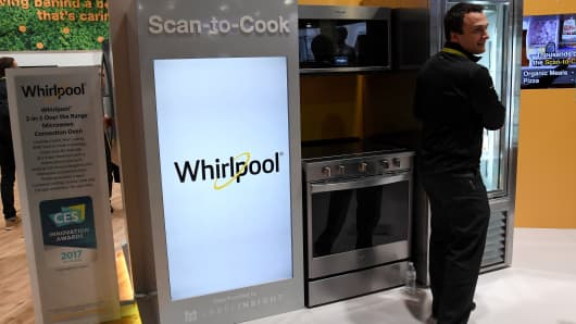 Whirlpool's Scan-to-Cook technology