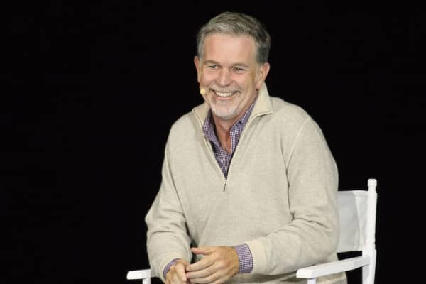 Reed Hastings, chief executive officer of Netflix Inc