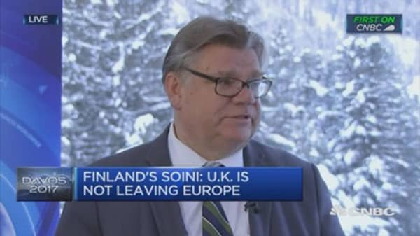 UK is leaving EU but not Europe: Finland's FinMin