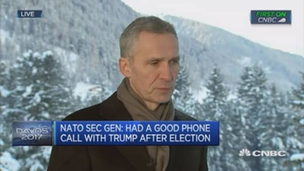 Absolutely certain Trump administration will be commited to NATO: Stoltenberg