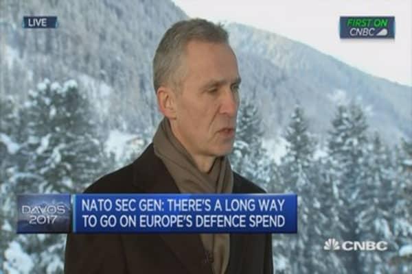 We need strong instutions in times of turmoil: NATO SecGen