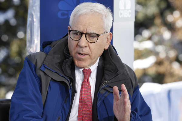David Rubenstein, The Carlyle Group Co-founder and Co-CEO, in Davos.