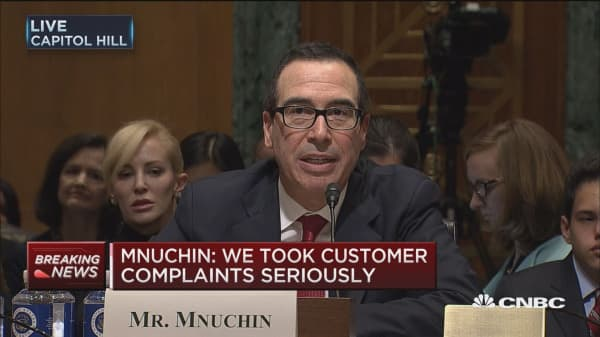 Mnuchin: Offshore entities not always for tax advoidance