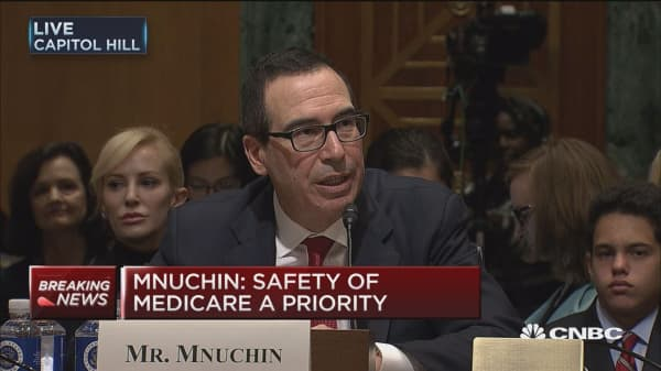Mnuchin: Assure you we will follow law and Constitution