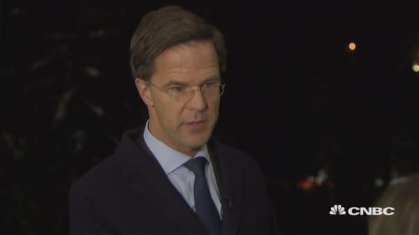 Brexit economic benefits only short-term for UK: Dutch PM