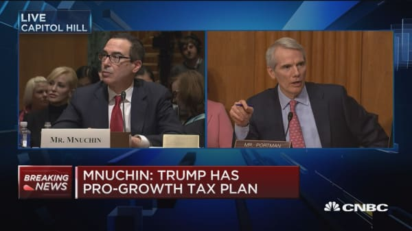 Mnuchin: President-elect Trump thinks we'll repatriate $3 trillion