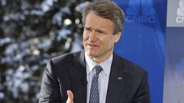 Brian Moynihan Bank of America CEO and Chairman
