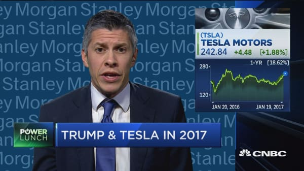 Jonas on Tesla upgrade: 'Less skeptical' would be a fair charactization