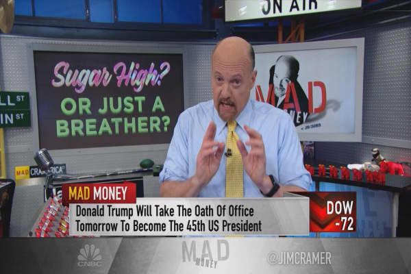 Why Cramer is sick and tired of investors claiming Donald Trump is unpredictable