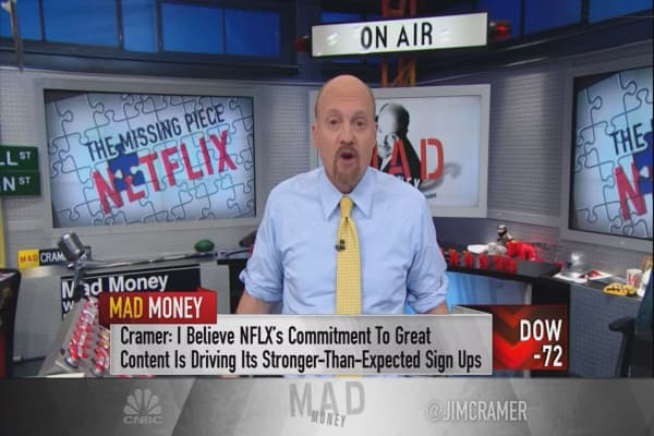 Cramer blames Amazon for the success of Tesla & Netflix