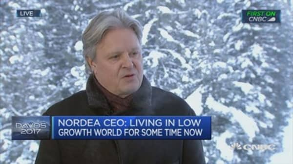 We need structural reforms, not just monetary policy: Nordea Bank CEO