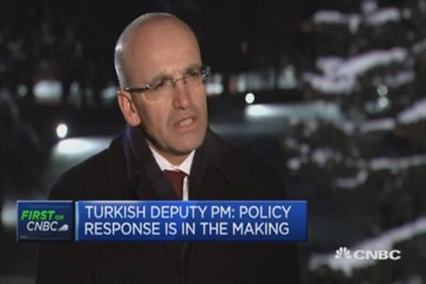 Turkey is not in a currency crisis: Deputy PM