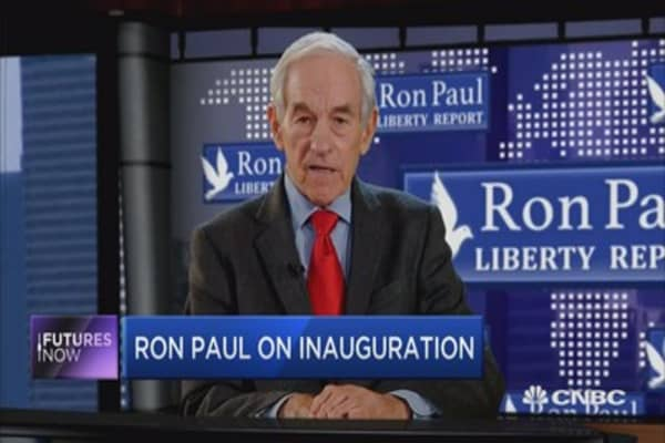 Ron Paul: A 'downturn' will happen under Trump
