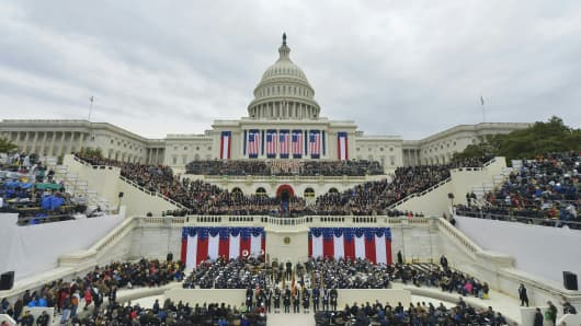 The Presidential Inauguration ceremony in Washington, D.C.