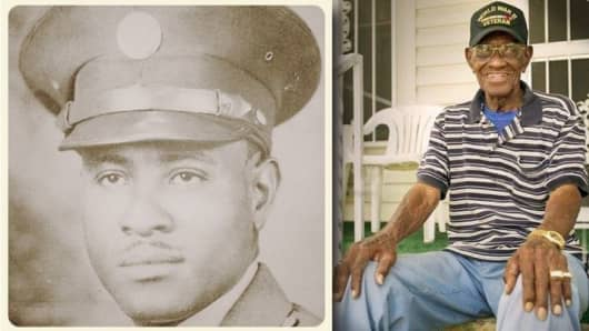Richard Overton, oldest WWII US Army veteran