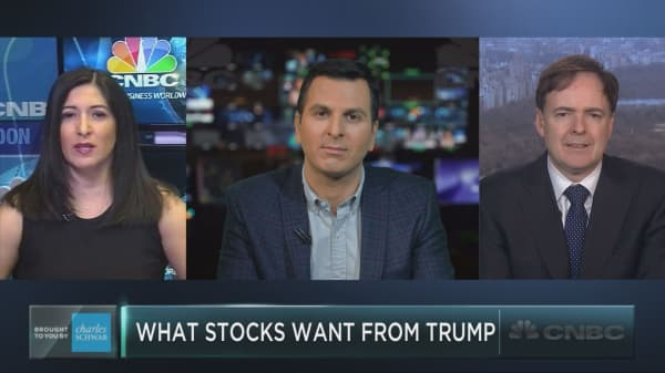 What do the markets want from Trump?