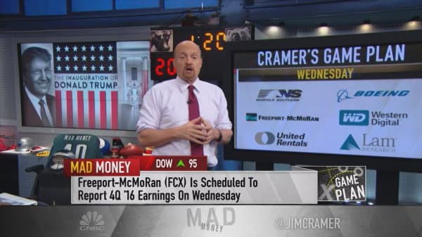 Cramer's game plan: Political cross-currents boost or blunt these earnings next week