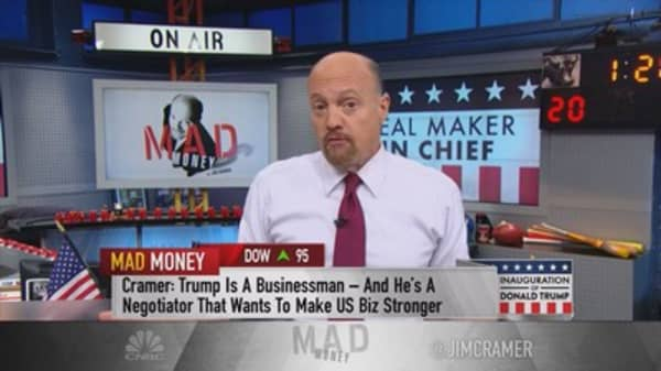 Cramer: Don't take Trump literally when it comes to stock picking