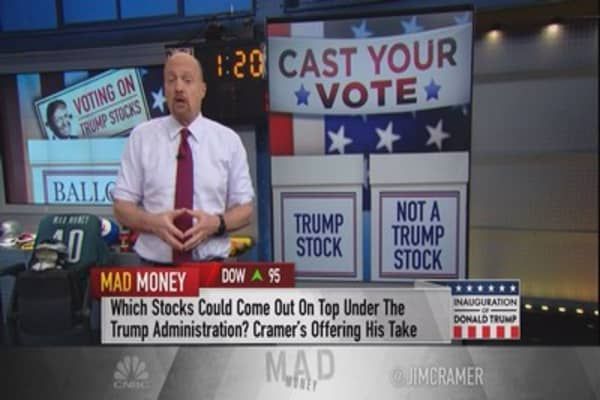 Cramer's roadmap to finding stocks that will thrive in a new political world