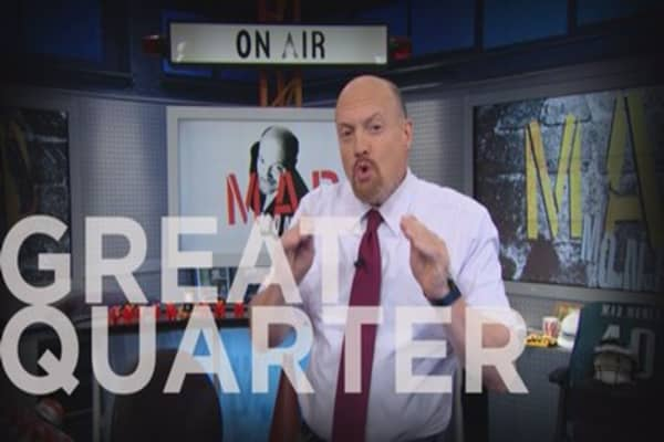 Cramer Remix: Big news about an Apple supplier was obscured by the Trump inauguration