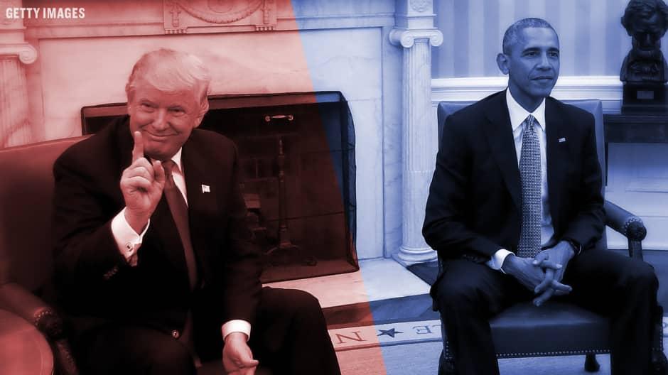 Trump vs Obama. The Economic Inheritance.