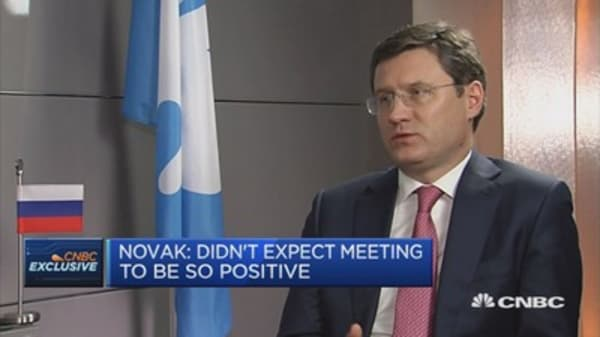 We didn't expect OPEC meeting to be so positive: Russian oil minister