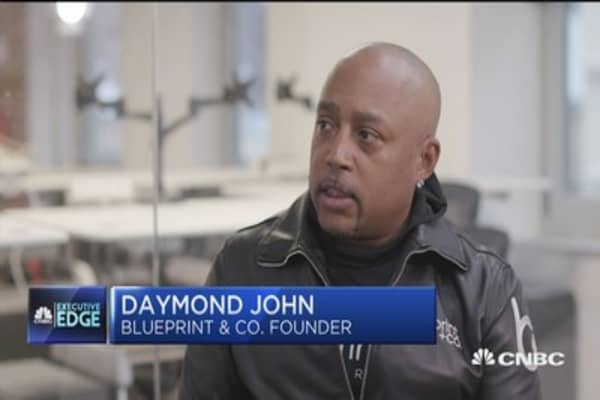 Daymond john discusses launching a new business in the trump era executive edge trumps biz style malvernweather Gallery