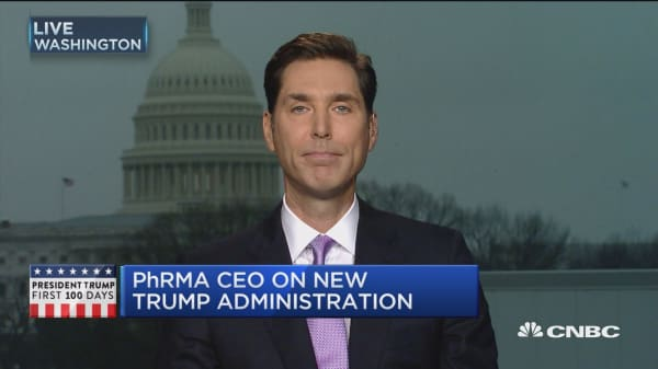 PhRMA CEO: Need to focus on value of drugs, not prices
