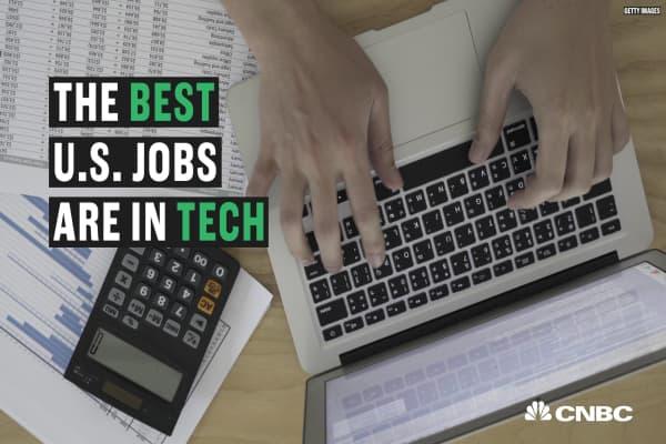 Here are Glassdoor's top ranking jobs in the U.S.