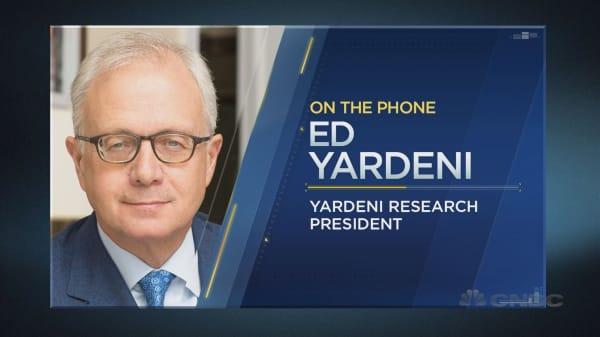 Ed Yardeni on the economy and the market