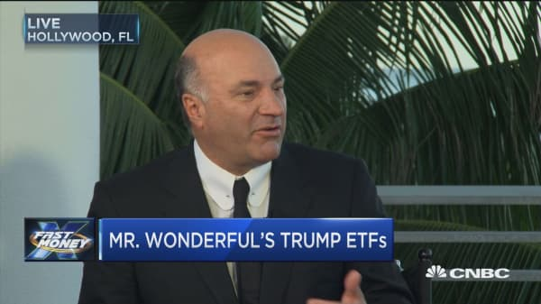 Mr. Wonderful shares his Trump ETFs