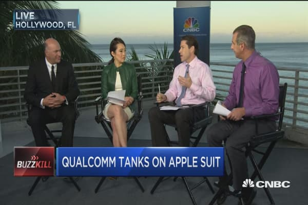 Qualcomm tanks on Apple suit
