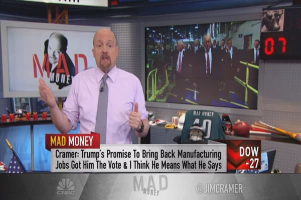 Cramer's playbook to conquer Trump's 'protectionist agenda'