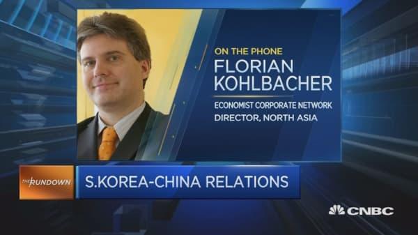 How THAAD is affecting China-S.Korea ties