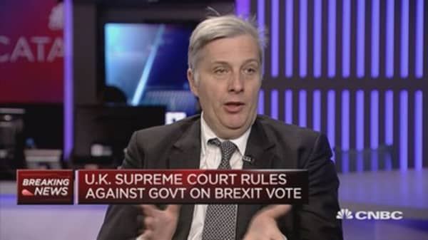 Brexit timetable not significantly delayed by Supreme Court ruling