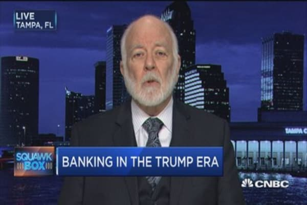 Dick Bove: Dispelling  'urban myths' about banks