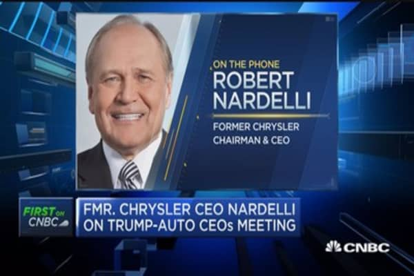 Nardelli: Excited for economy, auto industry under Trump