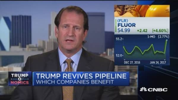 Fluor CEO: Manufacturers are ready for Trump projects