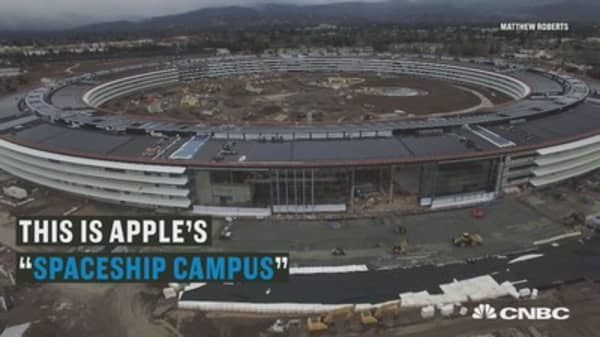 Take a look at Apple's new headquarters