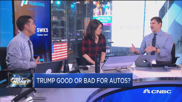 Trump good or bad for autos?