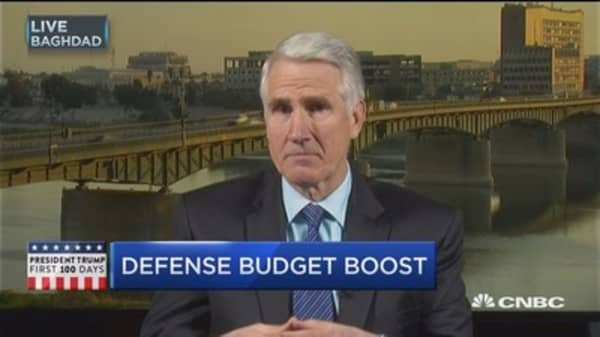 Time to get a bigger defense budget: Expert