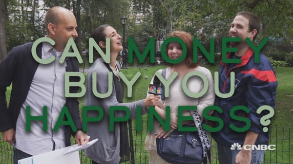 We asked people if money makes them happy