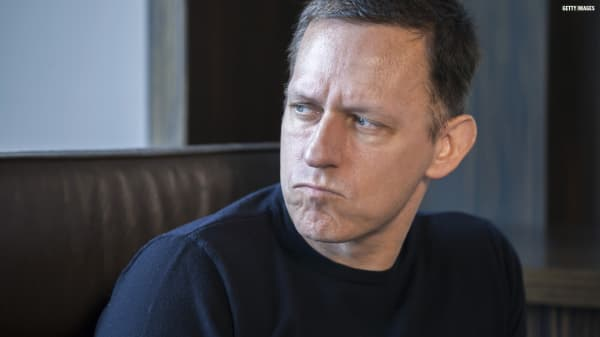 Billionaire Peter Thiel thinks 'Failure is massively overrated'